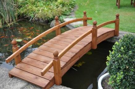 Wooden Garden Bridges Pond Bridges Tony Ward Furniture