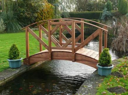 Japanese Style Garden Bridge Tony Ward Furniture - Garden bridges