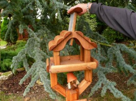 Pot Man Wooden Bird Table Tony Ward Furniture