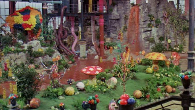Willy Wonka & The Chocolate Factory copyright Paramount Pictures