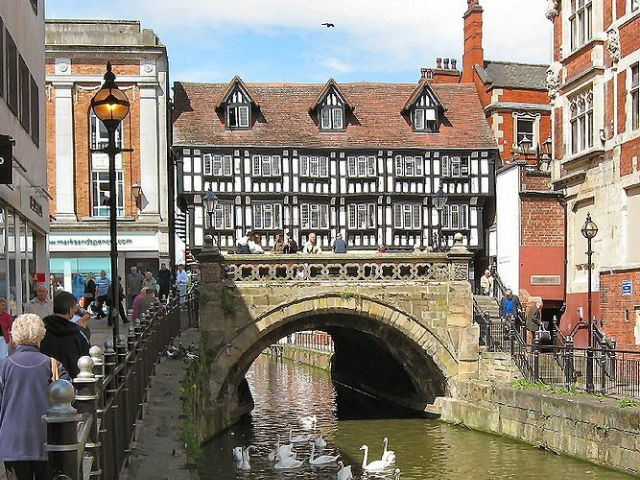 High Bridge, Lincoln, UK