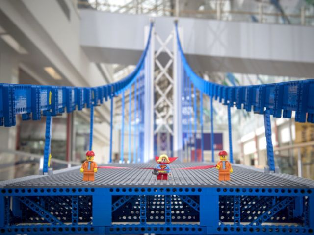 Worlds Longest Lego Bridge, Built In London