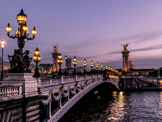The Pont Alexandre III, Paris