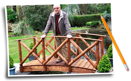 Handmade Wooden Garden Bridges Amp Furniture Tony Ward