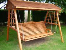 Wooden Arbour Seats Swing Hammocks Tony Ward Furniture