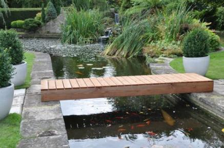Regal garden bridge tony ward furniture for Fish pond bridges