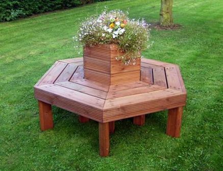 tree seats garden furniture. Brilliant Seats Garden Tree Seat Planter In Seats Furniture T