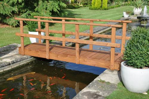 Rambler Low Rail Garden Bridge: 4ft Rambler LR