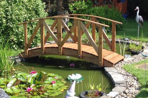 Europa Low Rail Garden Bridge: 6ft  Europa LR