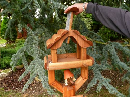 Pot Man Bird Table