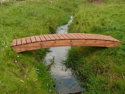 Regatta Curved Garden Bridge: 3ft Regatta CB