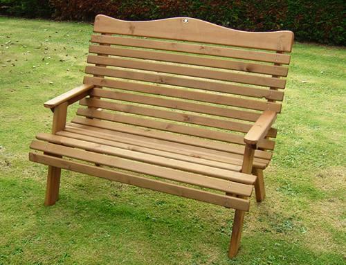 Torrington Garden Seat: 2 seater
