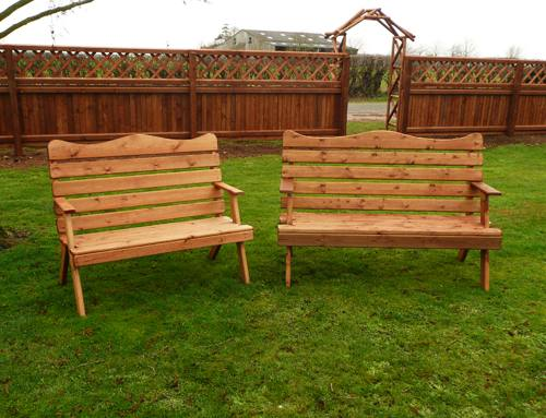 Garden Bench Seat: 2 seater