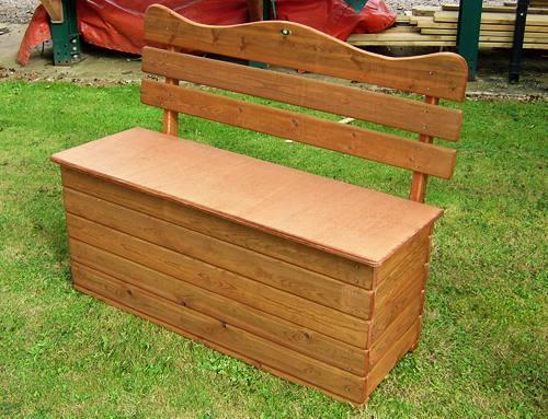 Garden Storage Seat