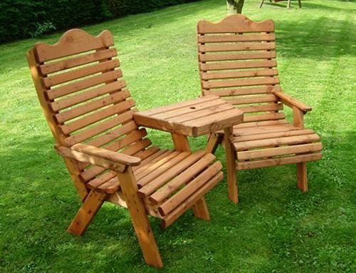 Deluxe Torrington Garden Conversation Seat