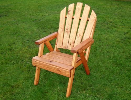 Fan Back Garden Chair