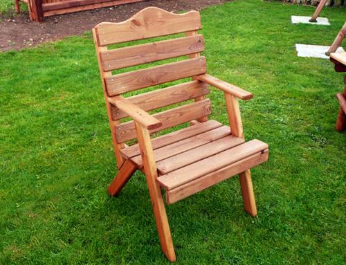 Light Garden Arm Chair