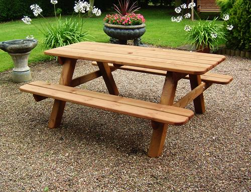 Garden Picnic  Bench: 6ft