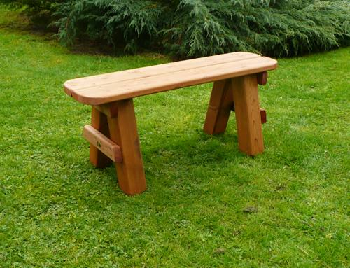 Hainton Garden Bench: 3'6 Hainton Bench