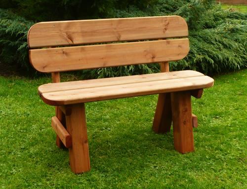 Hainton Garden Bench Seat: 3'6 Hainton Bench Seat