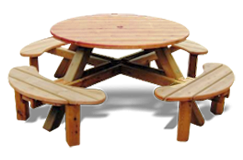 Wooden Garden Tables